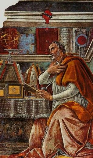 Botticelli - St Augustine