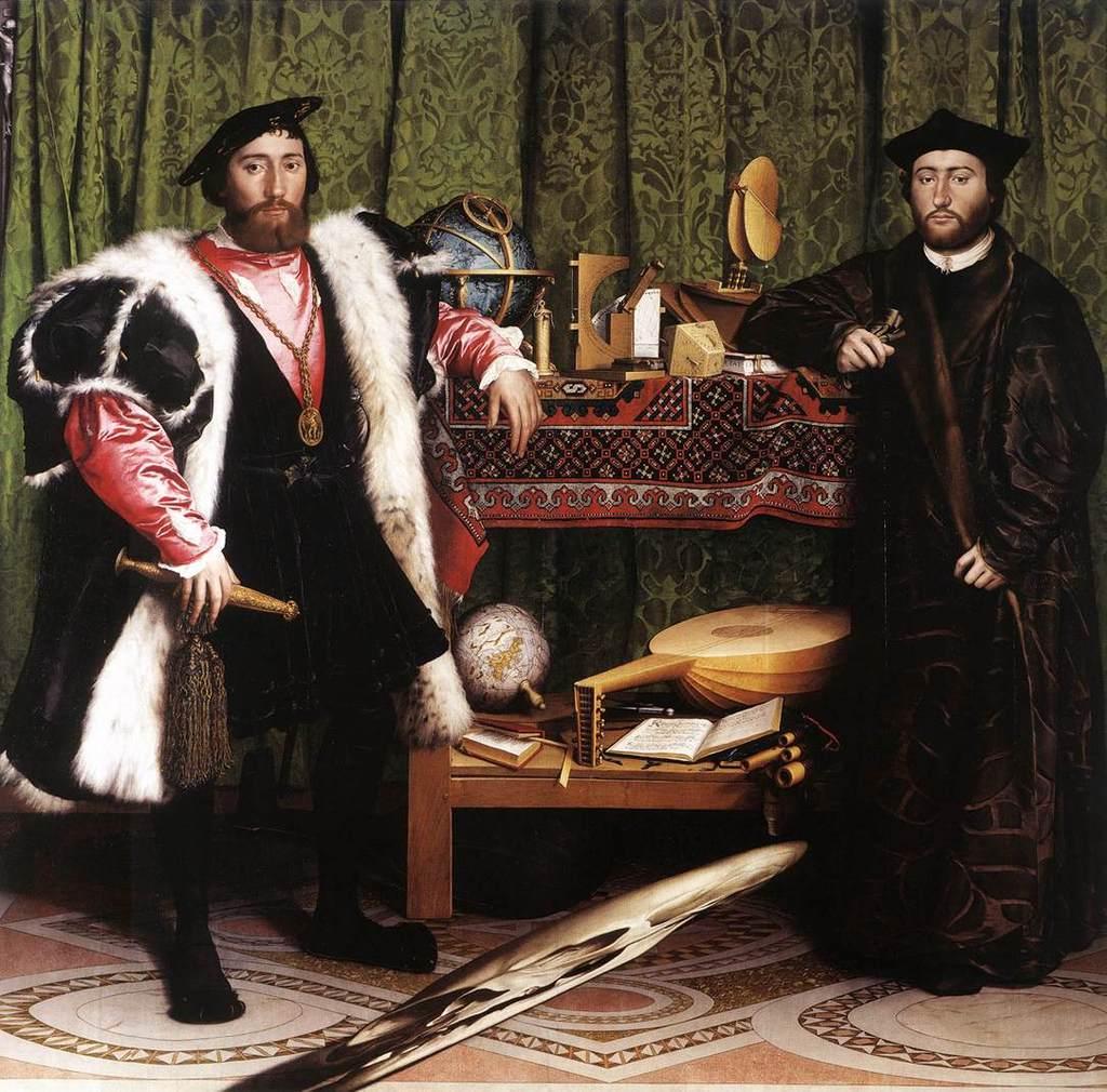 Morte e arte - Pagina 2 Holbein-ambassadors-basic
