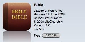 App - Bible