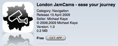 App - London jamcams