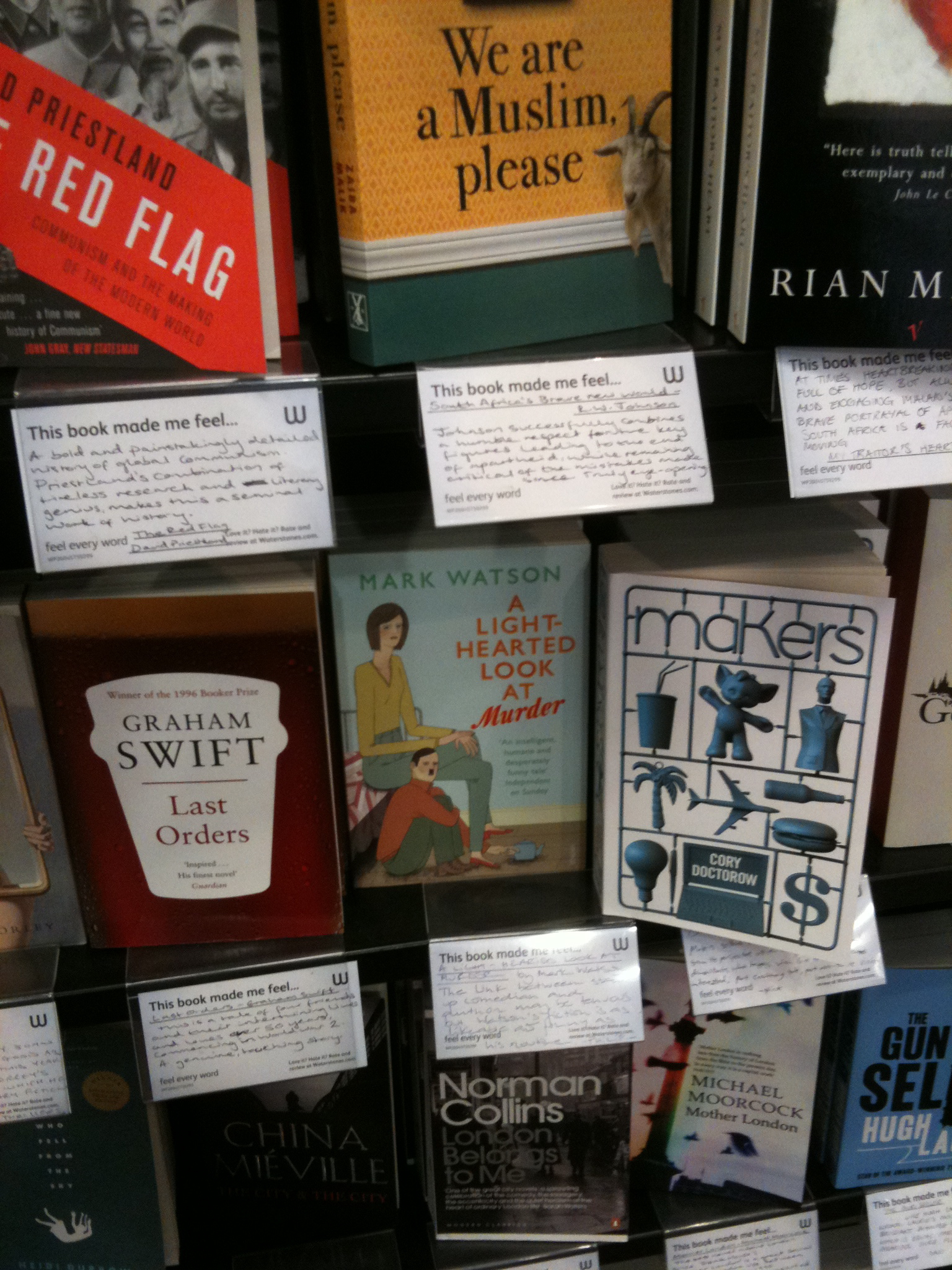 642 tiny things to write about waterstones online