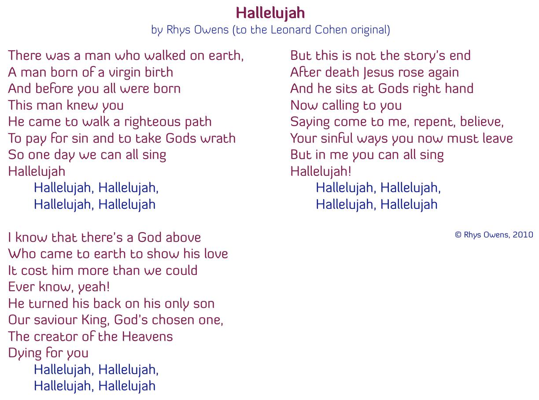 A Credal Hallelujah | Quaerentia