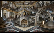 Rauzier - Escalier de la Reine