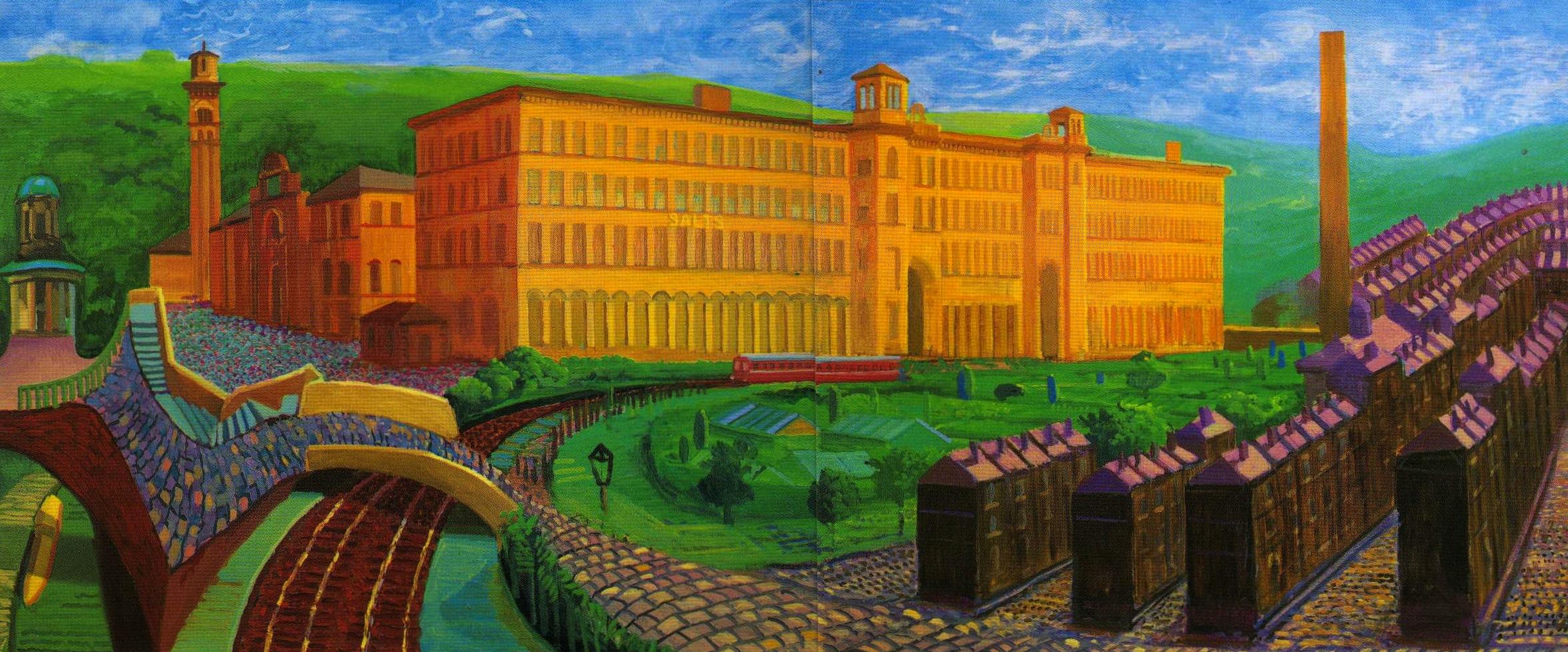 Forget avatar david hockney s bigger vision is the one for David hockney painting