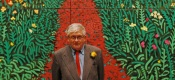 Hockney at RA launch 2012