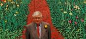Hockney at RA launch 2012