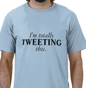 tweeting t shirt