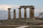 Ancient Corinth Temple of Apollo
