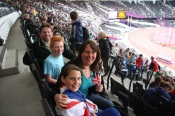 Meynells @ London2012 - Day 11 at the Olympic Stadium