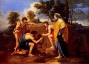 Poussin. Et in Arcadia ego (1638-40) Paris Louvre