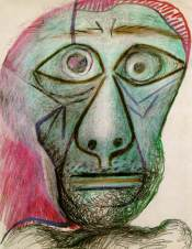 Picasso's 1972 Self-portrait