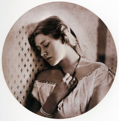 Sadness (the actress Ellen Terry) by Julia Margaret Cameron 1864