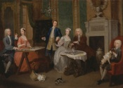 William Hogarth - Portrait of a Family (1735) copy