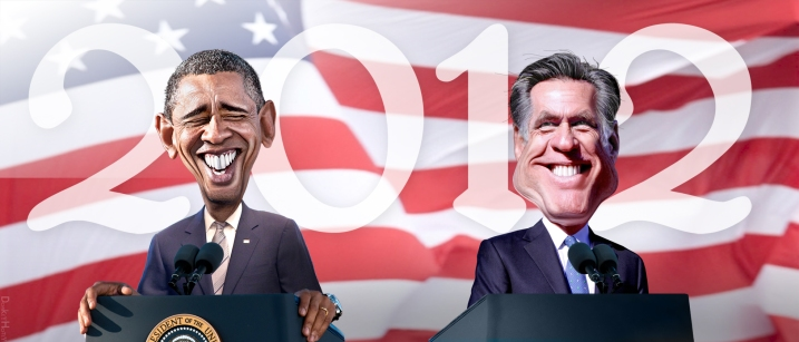 2012_Obama_Romney_caricature