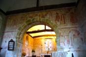 St Botolph's Frescoes (ca AD1100)