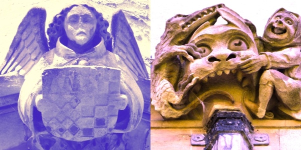 oxford gargoyles by Chris Creagh
