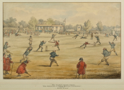 Chelsea & Greenwich Pensioners cricket match