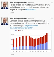 Montie - immigration