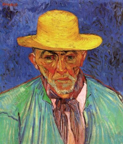Van Gogh - Patience Escalier (Provence shepherd) -1888