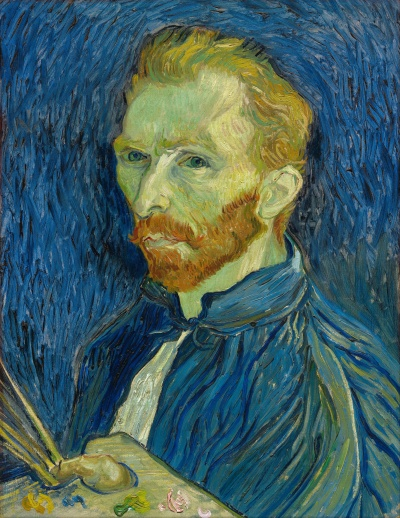 van Gogh - Self Portrait 1889