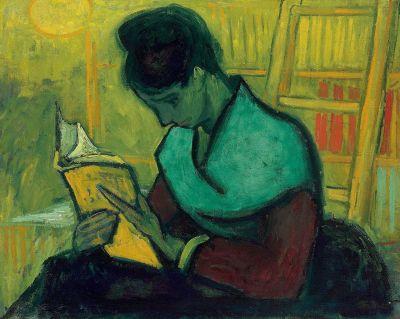 van Gogh - Une liseuse de romans (1888)